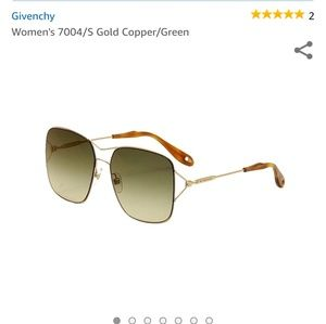 Givenchy 7004 S4 Gold and Copper Sunglasses